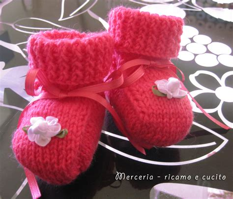fiore di ai ferri scarpette neonata di ai ferri con fiore gift