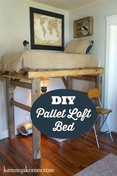 diy bedroom loft best 25 pallet loft bed ideas on pinterest loft bed