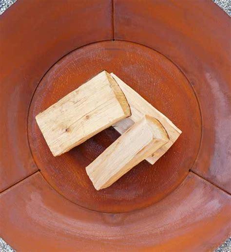 feuerschale stahl 80 cm feuerschale stahl aura 216 80 cm im greenbop shop