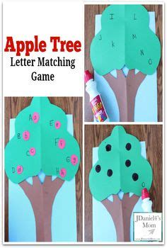 free tree letter matching a to m great winter and this would be great for either the farm theme a community