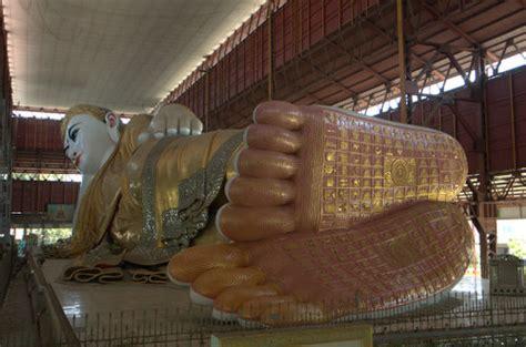 Reclining Buddha Myanmar by The Reclining Buddha Of Yangon