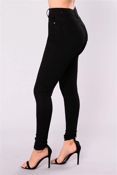 Punny Highwaist Pans Black scottsdale high waist black