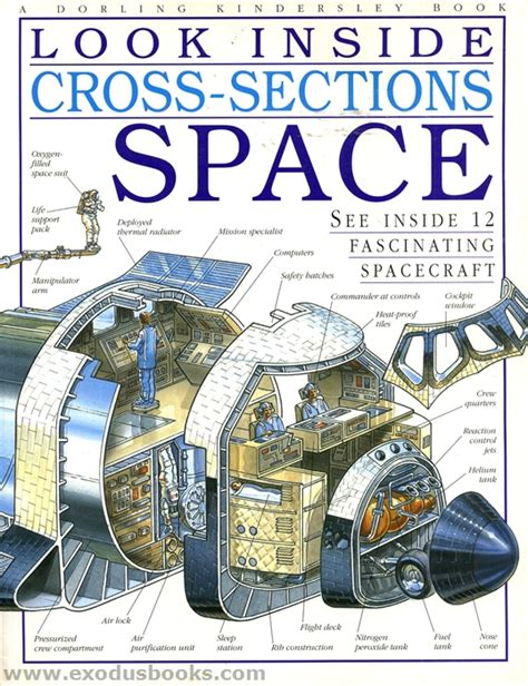 cross section book look inside cross sections space exodus books
