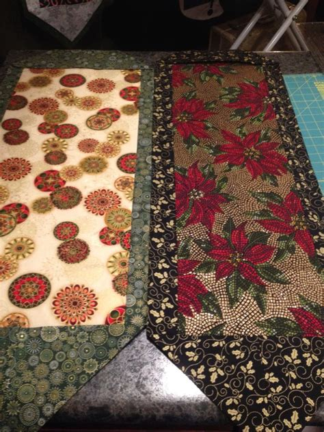 more ten minute table runners my sewing projects