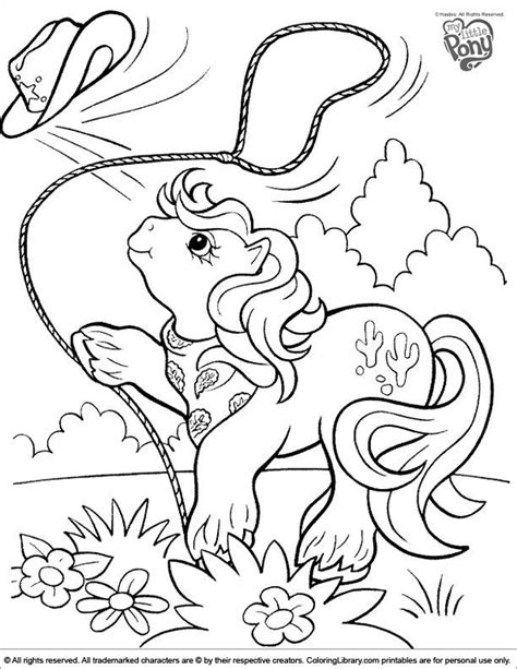 vintage my little pony coloring pages 64 best crafty 80 s my little pony coloring images on