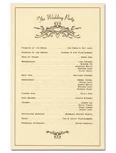 design wedding programs wedding program derek w veigel