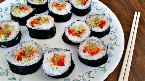 Sushi Kitchen Vegetarian Japanese Food Vegan Sushi Rolls Brand New Vegan