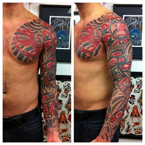 tribal tattoos sydney haida tattoos japanese tattoos rhys gordon sydney