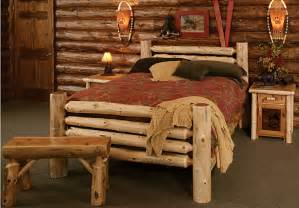 country furniture cedar log bed kits rustic furniture mall by timber creek