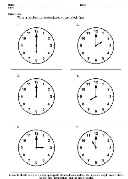 free printable time math sheets time theme worksheet sle