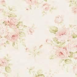 Vintage sanderson floral fabric geranium