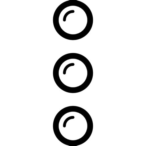 three buttons free shapes icons