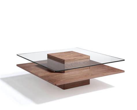 Zen Coffee Table Walnut Glass Coffee Table Angel Cerda Zen Coffee Table