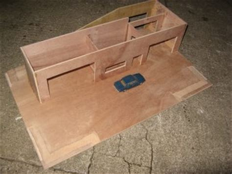 wooden toy car garage plans plans diy