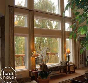 family room window treatments window panels a design blog