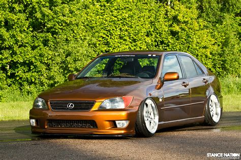 slammed lexus is200 one scandinavian stancenation form gt function
