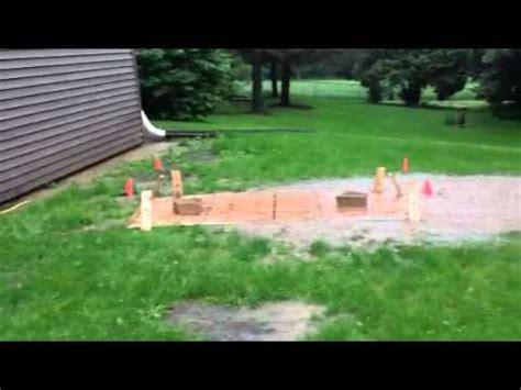 storm drain in backyard flooded yard doovi