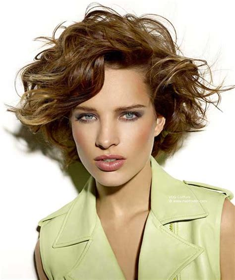 hair 2015 style spring stilvolle kurze haarschnitte f 252 r curly welliges haar