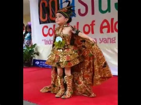 Sho Anak lomba fashion show anak anak sd aloysius semarang 2016