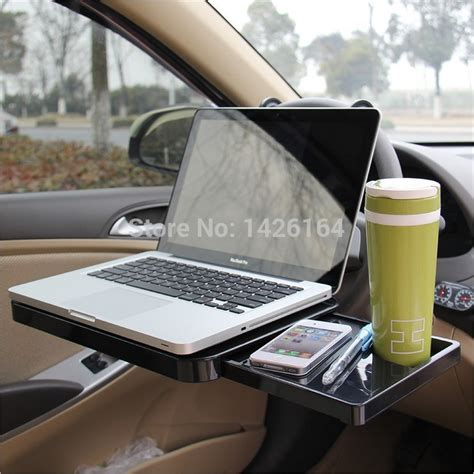foldable steering wheel car laptop holder back seat
