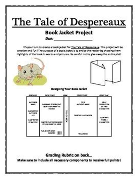 tale book report ideas 17 best images about tale of desperaux on