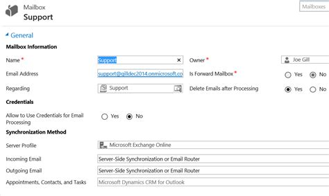 Office 365 Mail Queue Joegill Crm Queue With A Office 365 Shared Mailbox