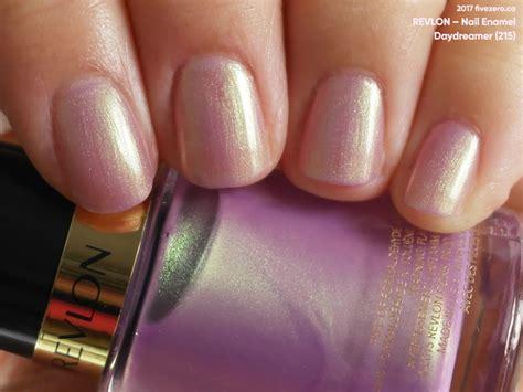 Revlon Nail revlon daydreamer nail enamel swatch review fivezero