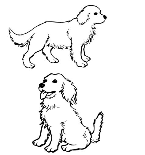 two dogs coloring page interactive magazine 2 dog coloring pages