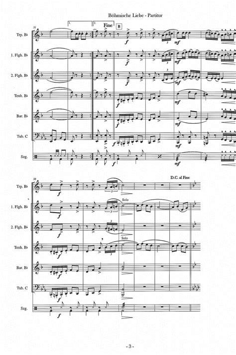 Böhmische Liebe (7er-Besetzung)| Noten - 7er-Besetzung