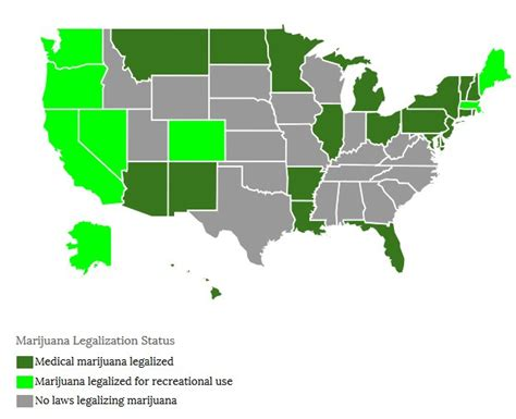 states with legal weed 9 states in u s that legalized recreational marijuana