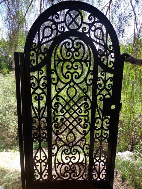 Wrought Iron Garden Fence by Best 25 Iron Garden Gates Ideas On Wrought