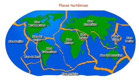 foto de las placas tectonicas las placas tect 243 nicas