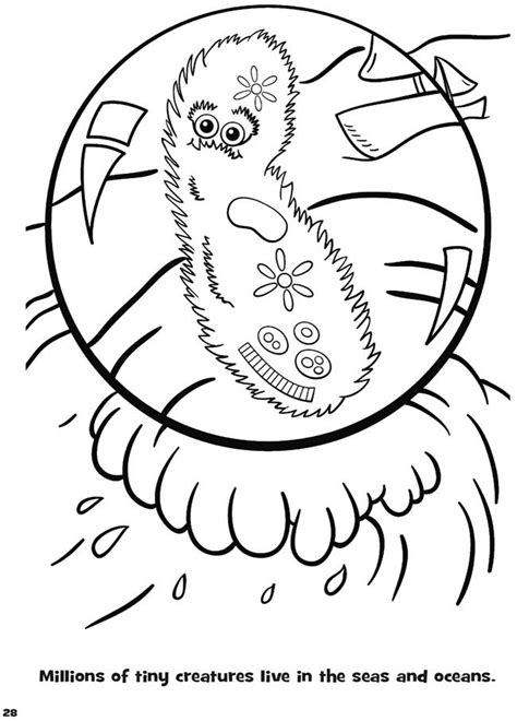 giantmicrobes germs and microbes coloring book dover