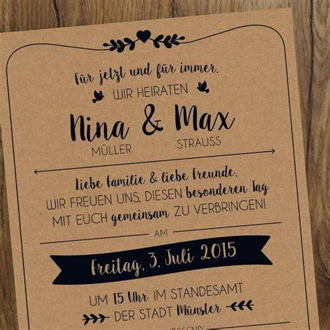 Hochzeit Einladungskarten Text by Die Besten 17 Ideen Zu Einladung Hochzeit Text Auf