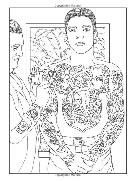 classic tattoo designs coloring book pin by gena andreano on dover coloring
