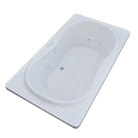 long bathtubs 7 foot universal tubs sunstone 5 7 ft whirlpool and air bath tub in white hd3468sd the