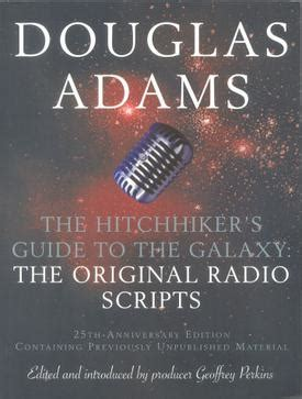 libro the hitchhikers guide to ver tema the hitchhiker s guide to the galaxy radio scripts 161 161 193 brete libro foro sobre