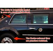 There Is No Car Like The US Presidents Armoured Limo