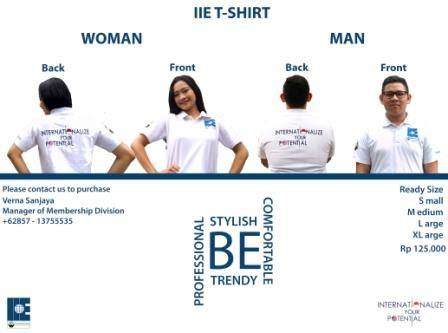 Tshirt Chapter Bekasi industrial engineering purchase iie t shirt now