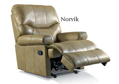 Leather Reclining Chairs Uk by Norvik Leather Reclining Chair By Sherborne From Orchards