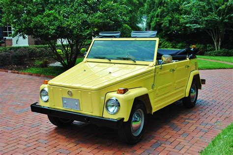 daily turismo 10k 1973 vw thing 1100 actual