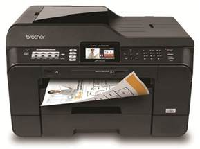 11x17 laser printer color mfcj6710dw business inkjet all in one