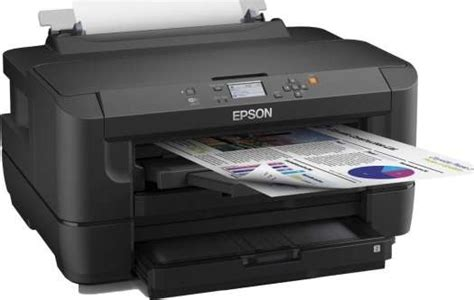 Printer Epson Scan Copy A3 epson workforce wf 7610dwf a3 duplex business printer with wi fi ethernet and a3 sided