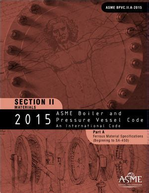 asme bpvc section ii materials asme bpvc 2015 section ii materials part a ferrous