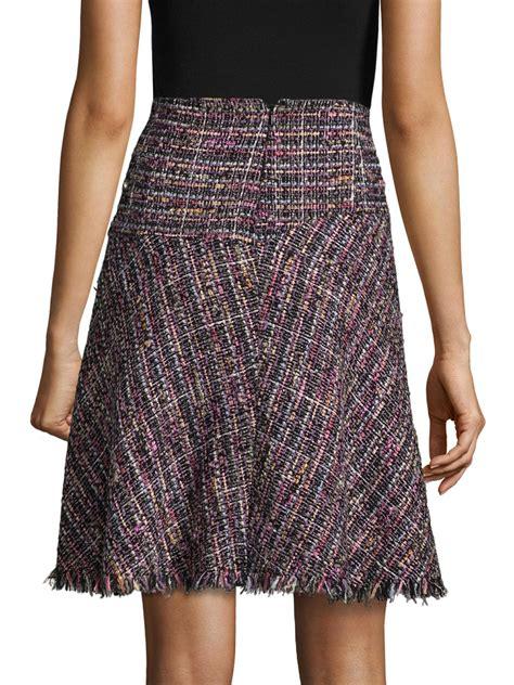 Tweed A Line Skirt lyst etro tweed a line skirt
