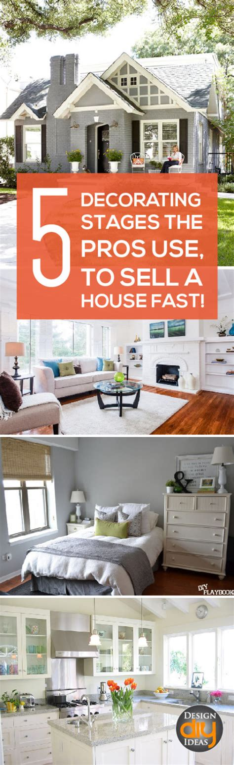 sell a house fast with these 5 decorating stages design