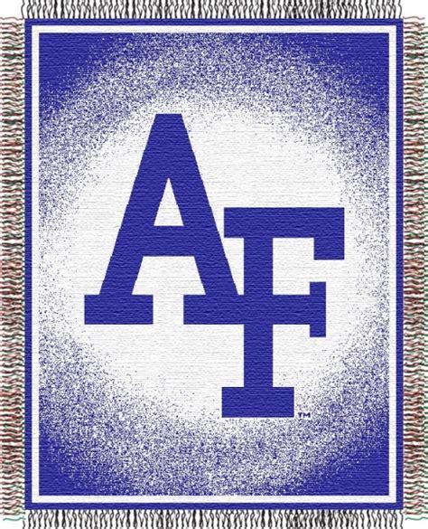 air force comforter set air force ncaa college quot focus quot 48 quot x 60 quot triple woven