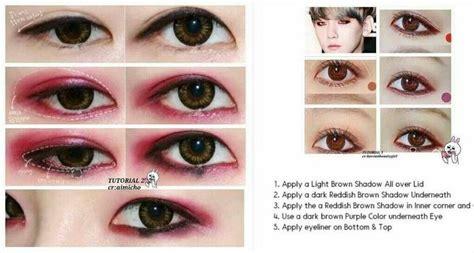 tutorial eyeliner baekhyun baekhyun eyeliner ulzzang pinterest baekhyun and