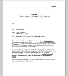 Memo template for employee sample of employee memo template sample