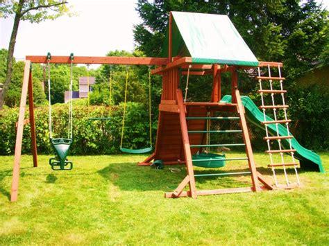 swing sets nj swing set installation nj playset installer cedar summit
